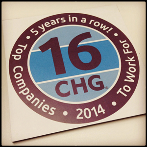 CHG ranks No. 16 on Fortune magazine's 100 Best Companies to Work For list