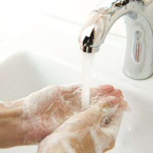 Proper handwashing techniques
