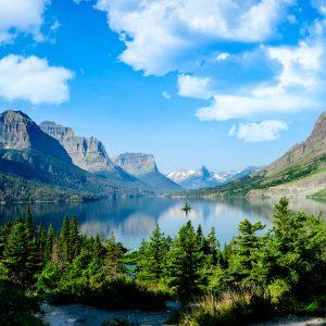 Wild Goose Island, St. Marys Lake, Glacier National Park