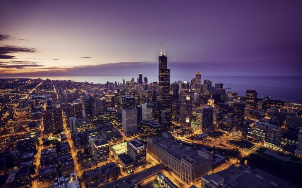 travel nursing locations - 15 places to see before you die - image of chicago skyline