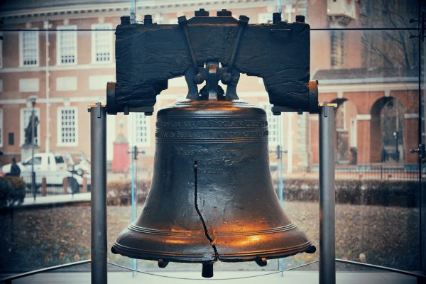 travel nursing locations - 15 places to see before you die - image of the liberty bell in philadelphia pennsylvania