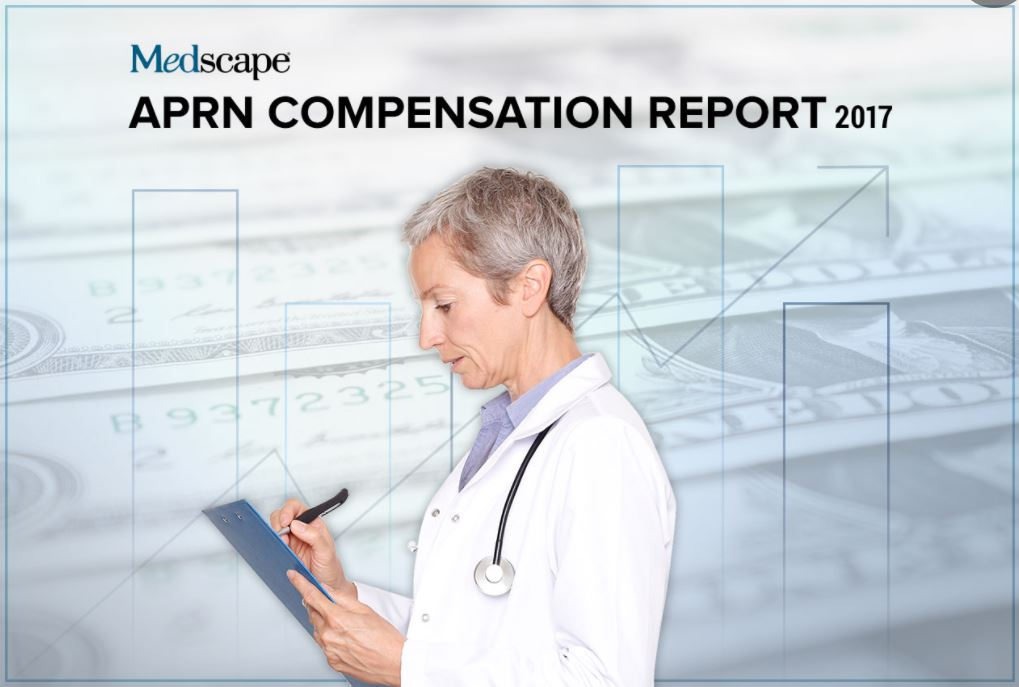 RNnetwork - how much money can you make as a travel nurse - featured image of medscape nurse compensation study cover