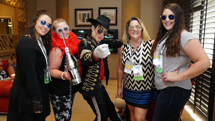 Michael Jackson impersonator and travel nurses in Las Vegas