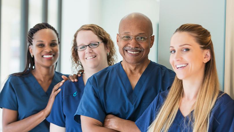 Travel nurses at different nursing career stage