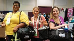 Travel nurses at TravCon