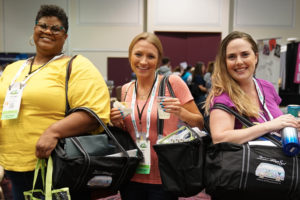 Travel nurses at TravCon
