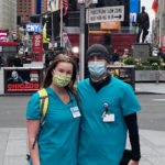 Two travel nurses in NYC during the COVID-19 pandemic