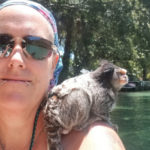 Friends with a marmoset - a with a unique travel nurse lifestyle