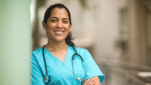 Nursing working with a license under the nurse licensure compact